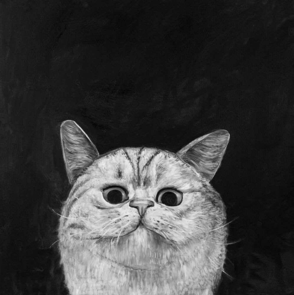 Watching Cat Atelier B Art Studio 150844
