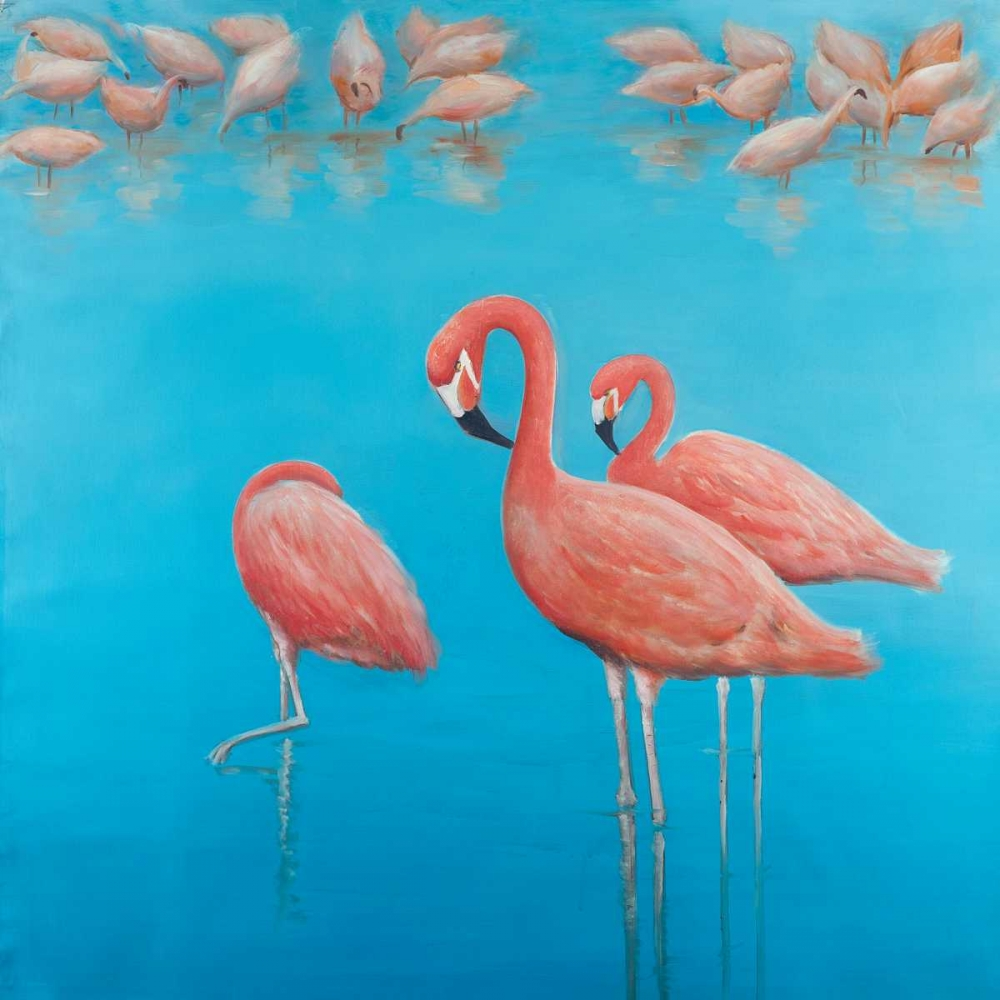Group of Flamingos Atelier B Art Studio 150853