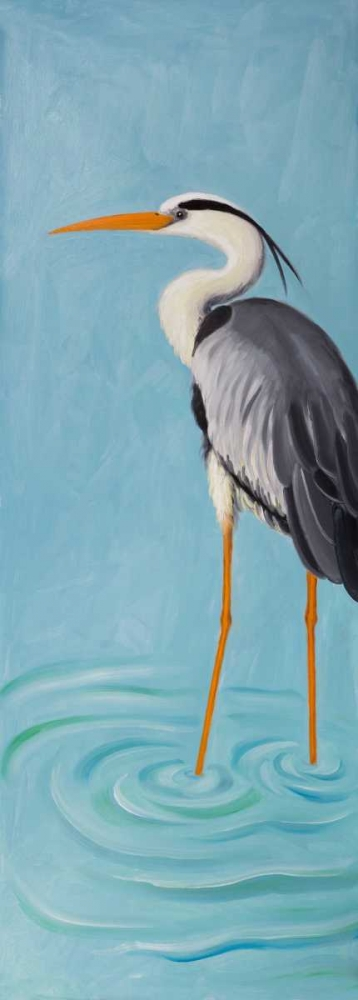 Grey Heron Atelier B Art Studio 150865
