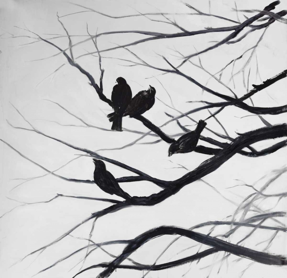 Birds and Branches Silhouette Atelier B Art Studio 150869