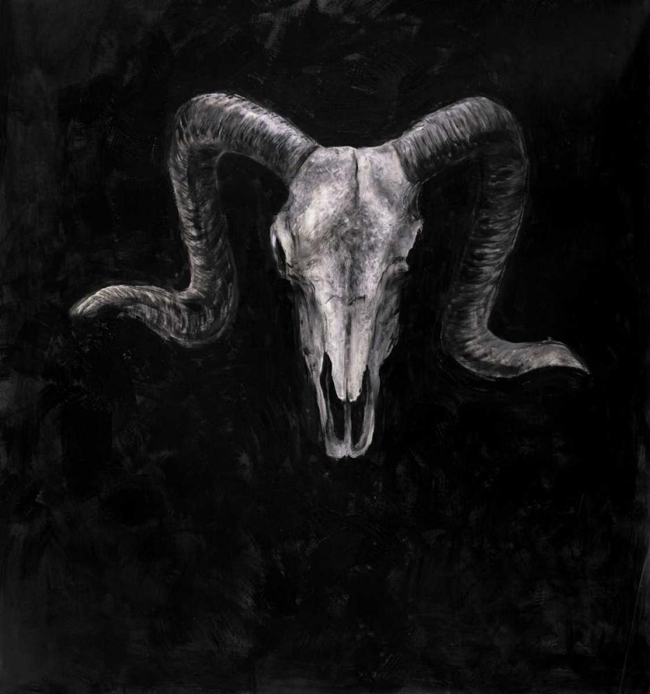 Ram Skull Grunge Style Atelier B Art Studio 150871