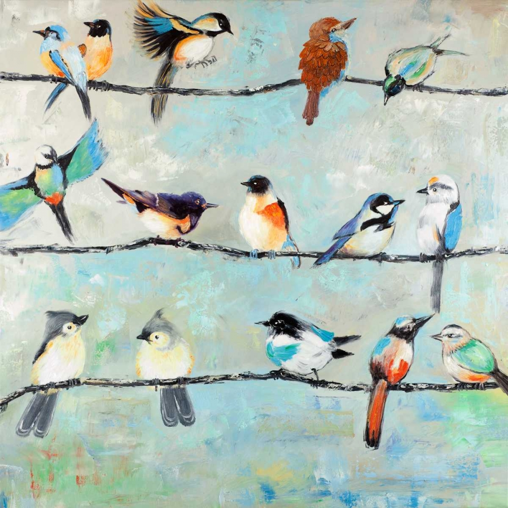 Small Colorful Birds Atelier B Art Studio 162995