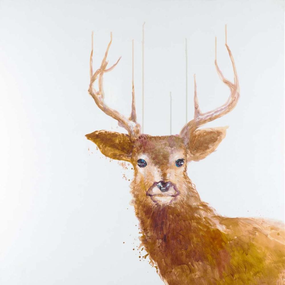 Abstract Deer Atelier B Art Studio 163011