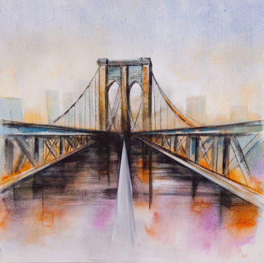 Colorfull Brooklyn Bridge Atelier B Art Studio 150879