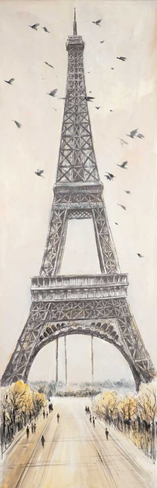 Eiffel Tower in Paris Atelier B Art Studio 150880