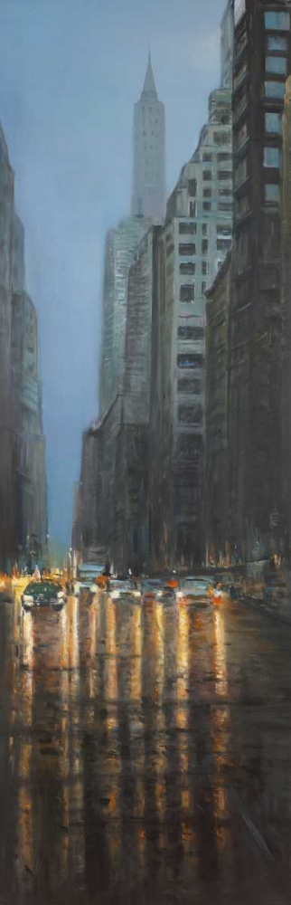 Evening in the Streets of New-York City Atelier B Art Studio 150883