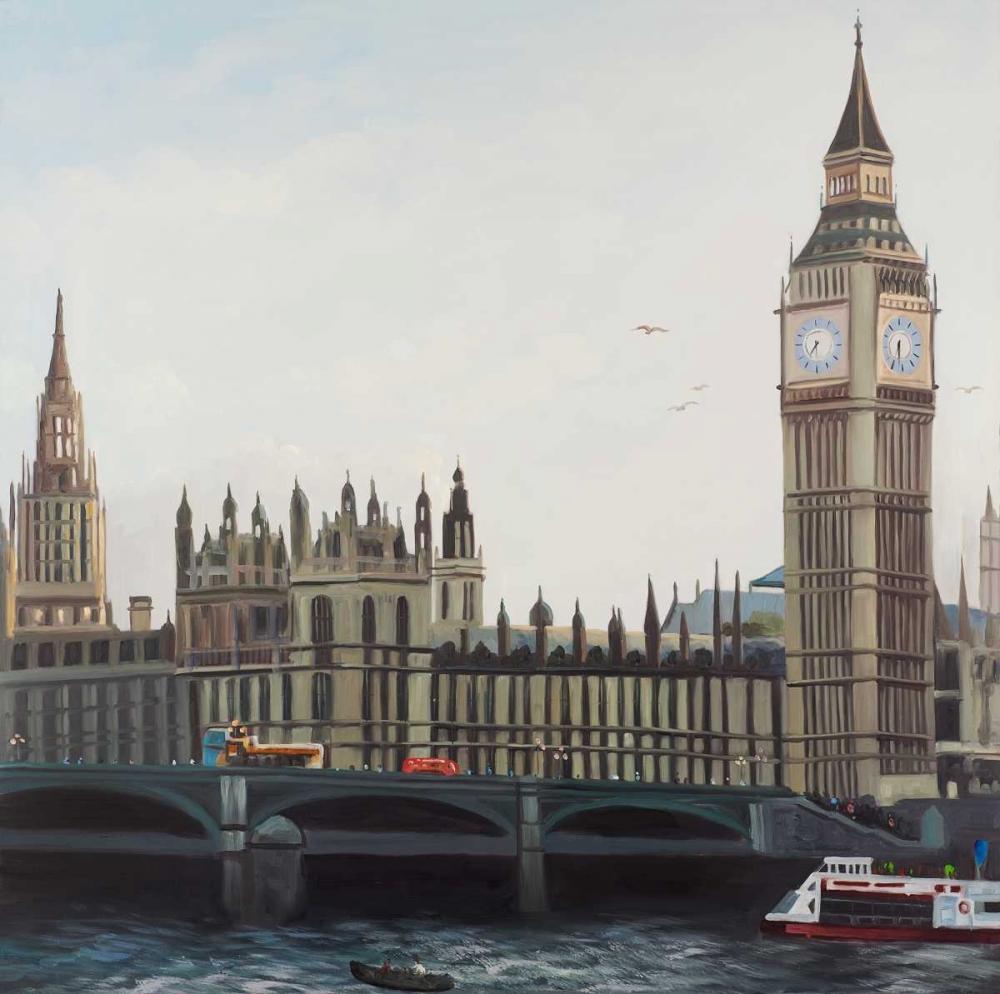 Big Ben Clock Elizabeth Tower in London Atelier B Art Studio 150888