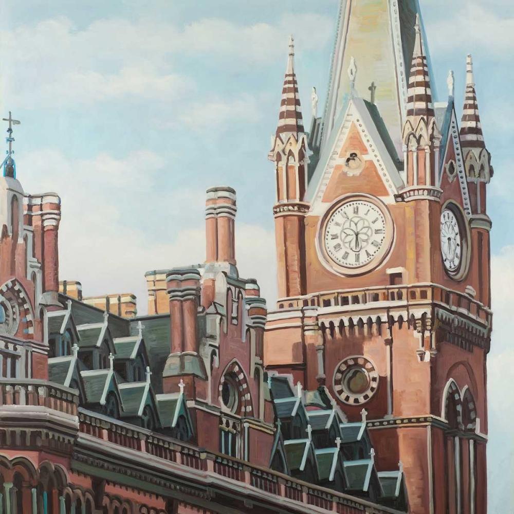 St-Pancras Station in London Atelier B Art Studio 150889