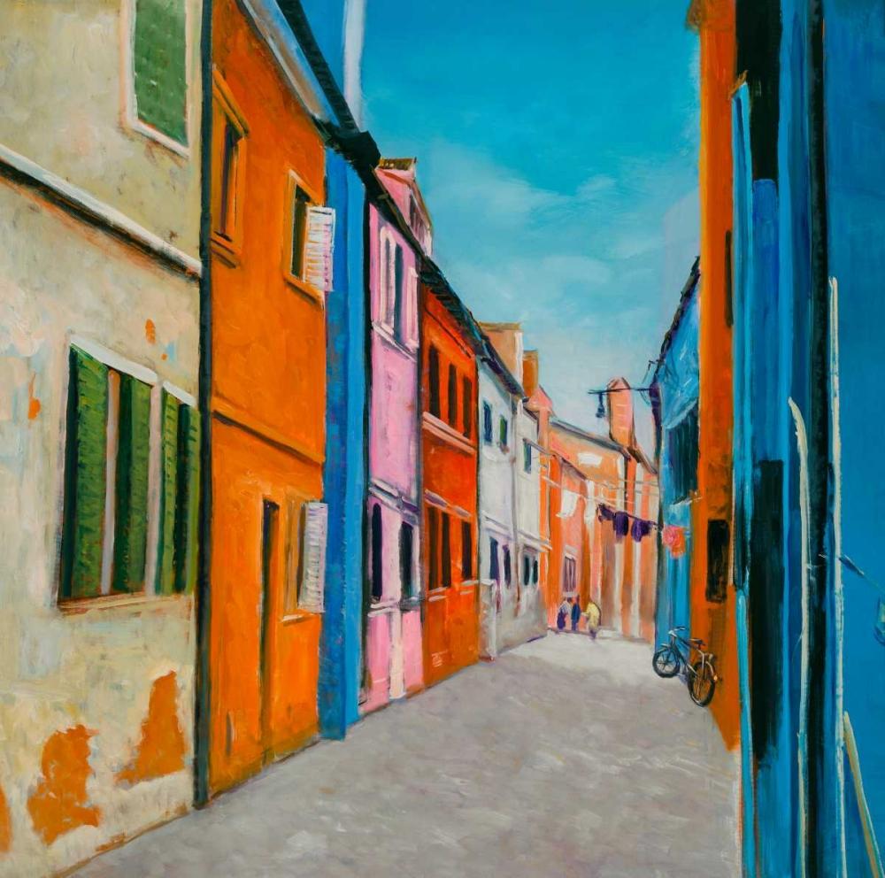Colorful Houses in Italy Atelier B Art Studio 150892