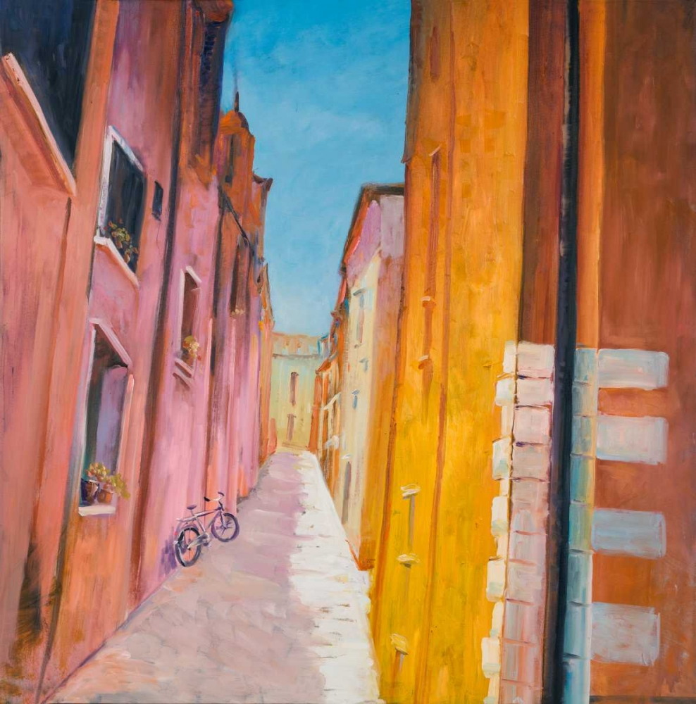 Colorful Houses on the Streets of Collioure Atelier B Art Studio 150893