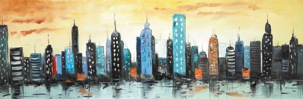 Skyline on Cityscape Atelier B Art Studio 163021