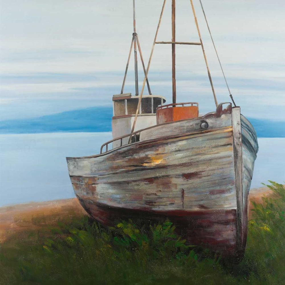 Old Abandoned Boat Atelier B Art Studio 150929