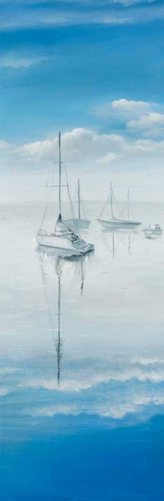 Sailboats on the Quiet Lake Atelier B Art Studio 163031