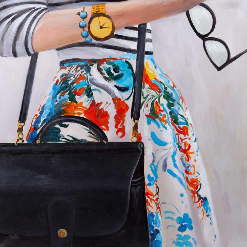 Fashionable Woman with Glasses Atelier B Art Studio 150948