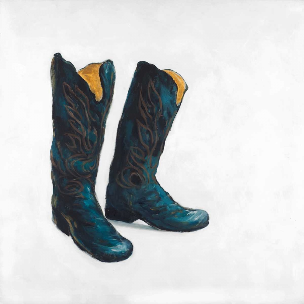 Cowboy Boots in Leather Atelier B Art Studio 150951