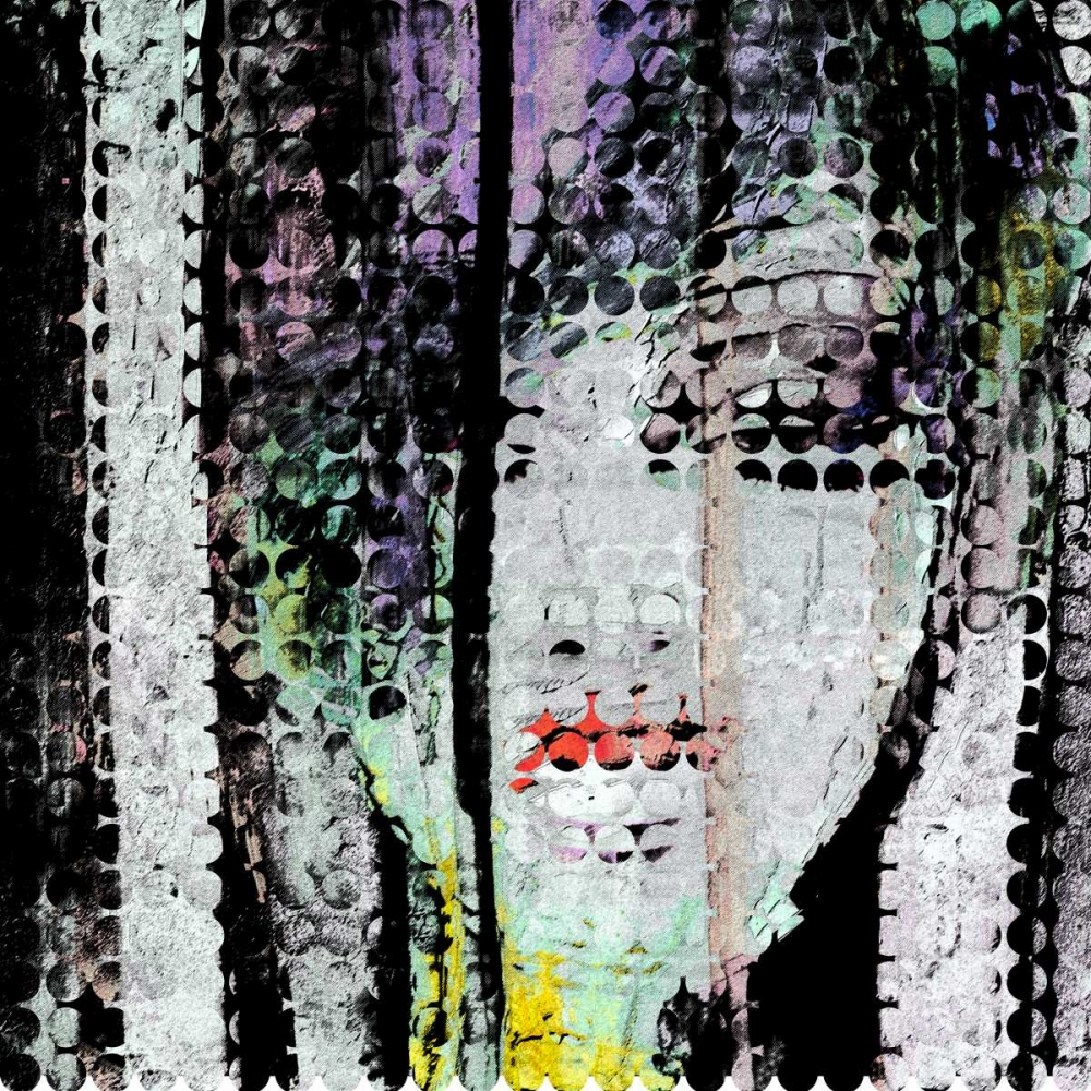 Abstract Colorful Woman Face Atelier B Art Studio 150966
