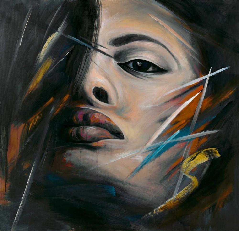 Abstract Woman Portrait Atelier B Art Studio 150969