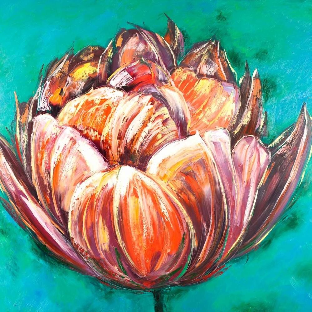 Abstract Double Tulips Flower Atelier B Art Studio 163048