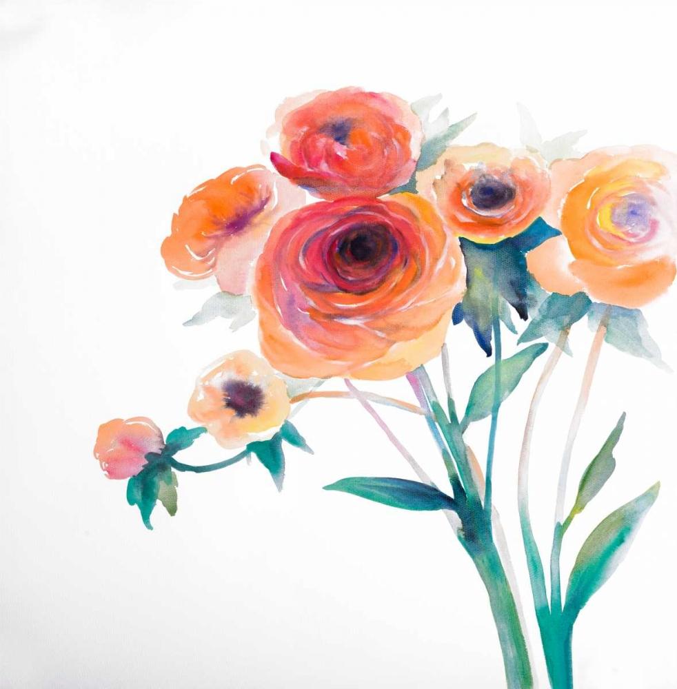 Watercolor Flowers Atelier B Art Studio 163056