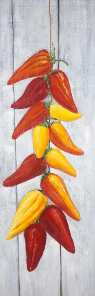 Rope of Peppers Three Colors Atelier B Art Studio 154160