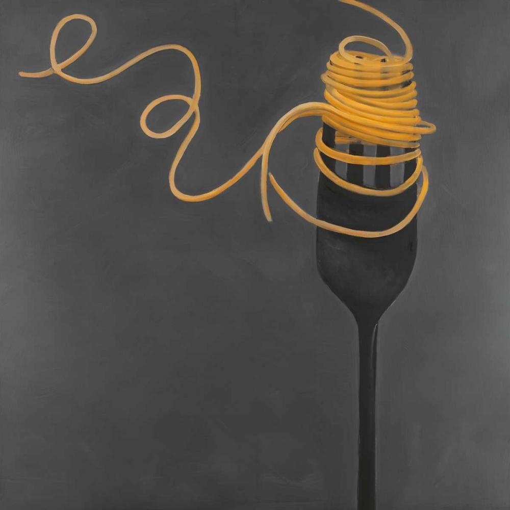 Spaghetti Pasta around the Fork Atelier B Art Studio 154162