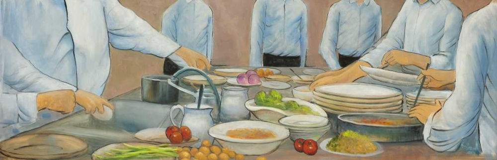 Cook Chefs at Work Atelier B Art Studio 154165
