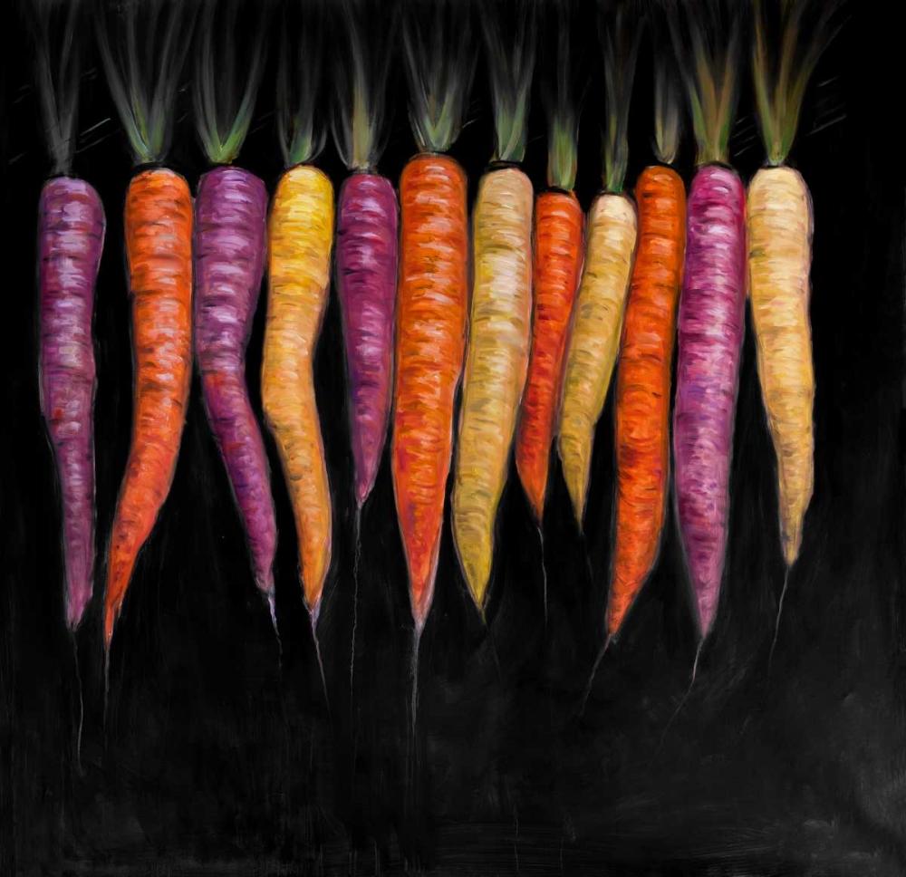 Colorful Carrots Vegetable Atelier B Art Studio 154175