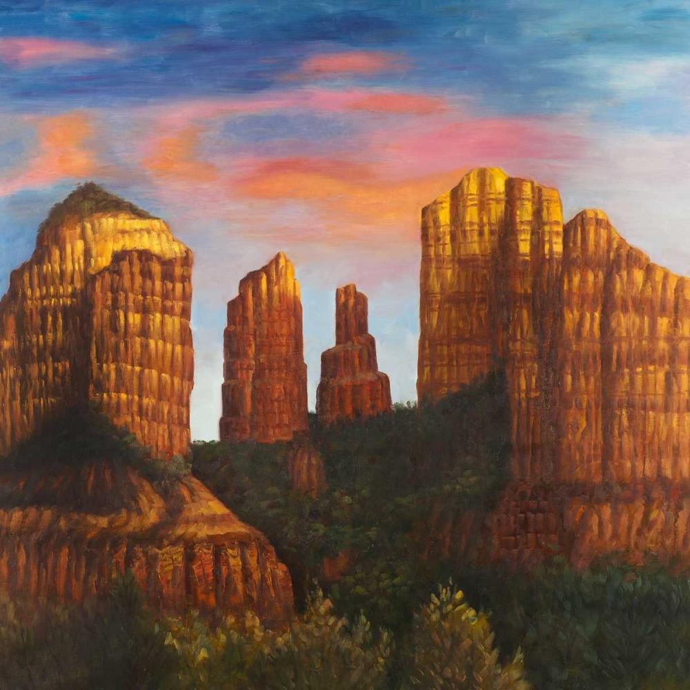 Cathedral Rock in Arizona Atelier B Art Studio 150989