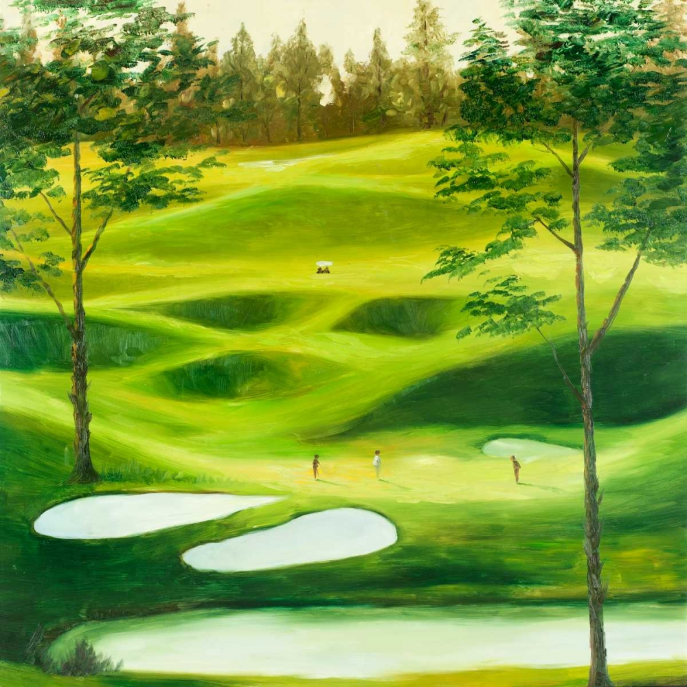 Big Golf Course Atelier B Art Studio 163073