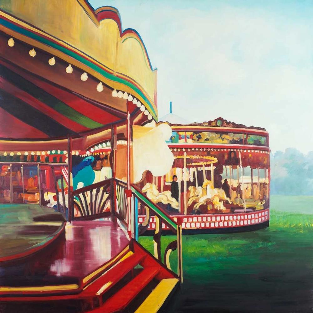 Carousel in a Carnaval Atelier B Art Studio 150999