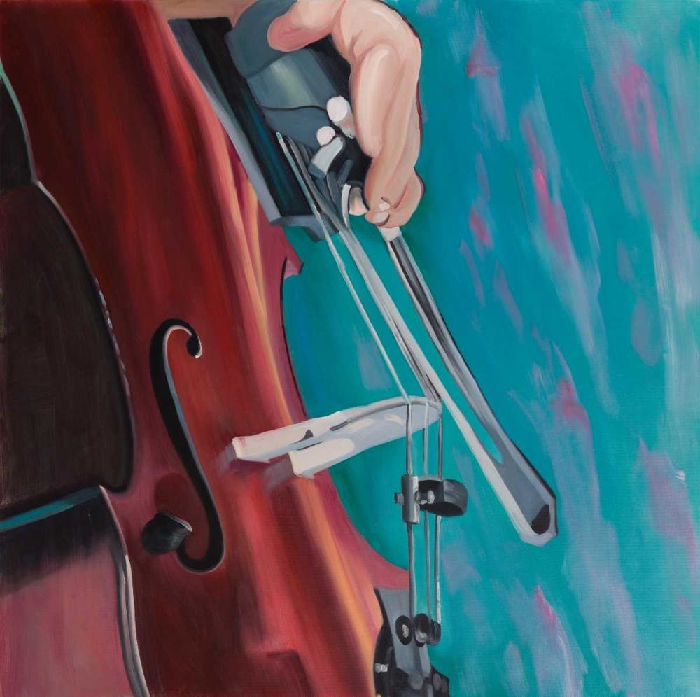 Musicien with Cello Atelier B Art Studio 151010