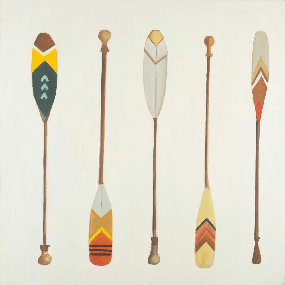 Canoe Paddles Atelier B Art Studio 151017