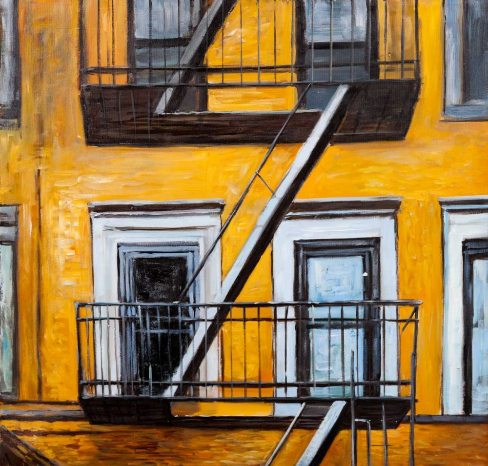 Building Old Fire Escape Atelier B Art Studio 151033