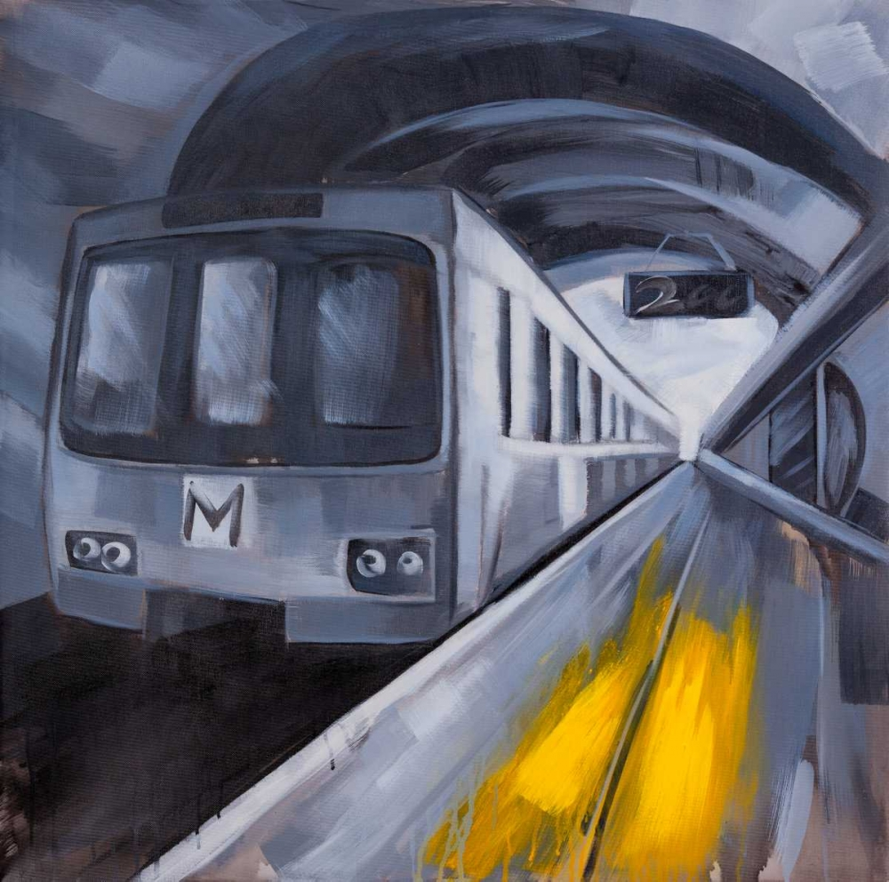 Subway in a Metro Atelier B Art Studio 151039