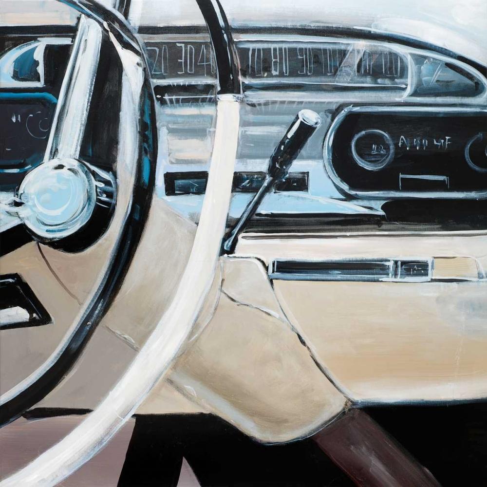 1950s Car Dashboard Atelier B Art Studio 163094